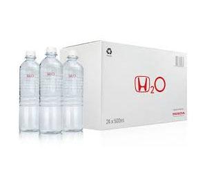 Новая бутилированная вода из выхлопных газов от «Honda»